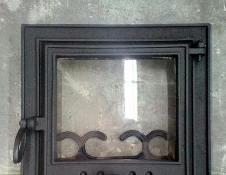 Дверцы для печей с огнеупорным стеклом